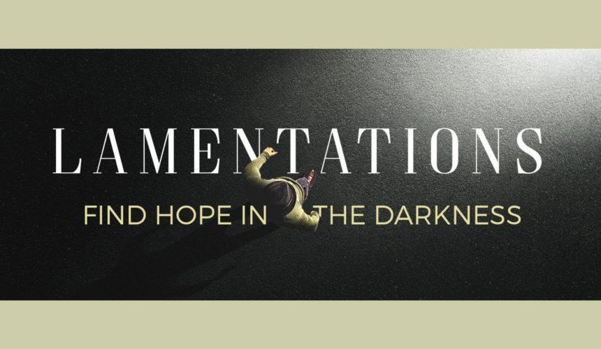 Lamentations Message 1