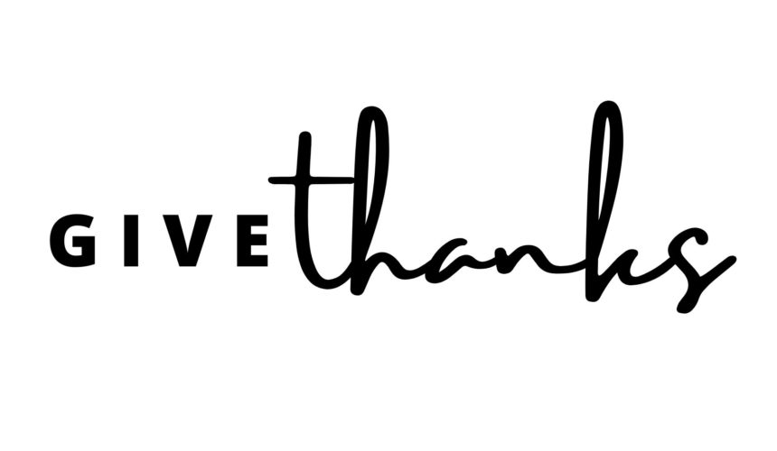 Give Thanks Message 1